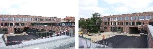 Neubau Lukas-Hauptschule mit 3-fach Sporthalle in München-Laim