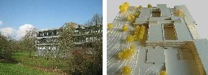 Universität Regensburg NWF West, Errichtung eines Ausweichgebäudes